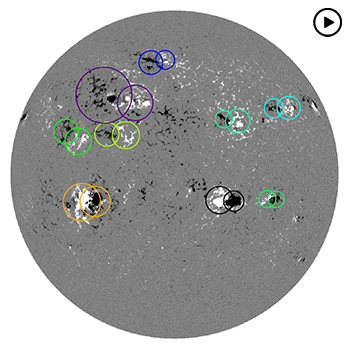 Automatic Detection of Magnetic Regions